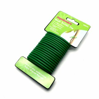 Clip N Twist Plastic Coated Garden Wire Plant Ties With