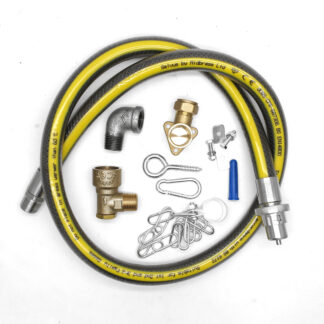 1250mm cooker hose installation kit